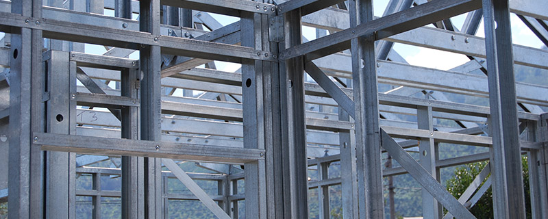 Benefits with light gauge steel framing system