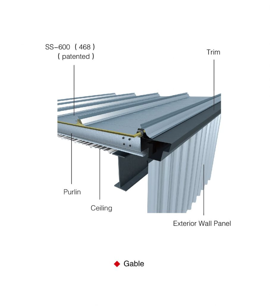 Ss 468 600 Standing Seam Roof Lintel Structure