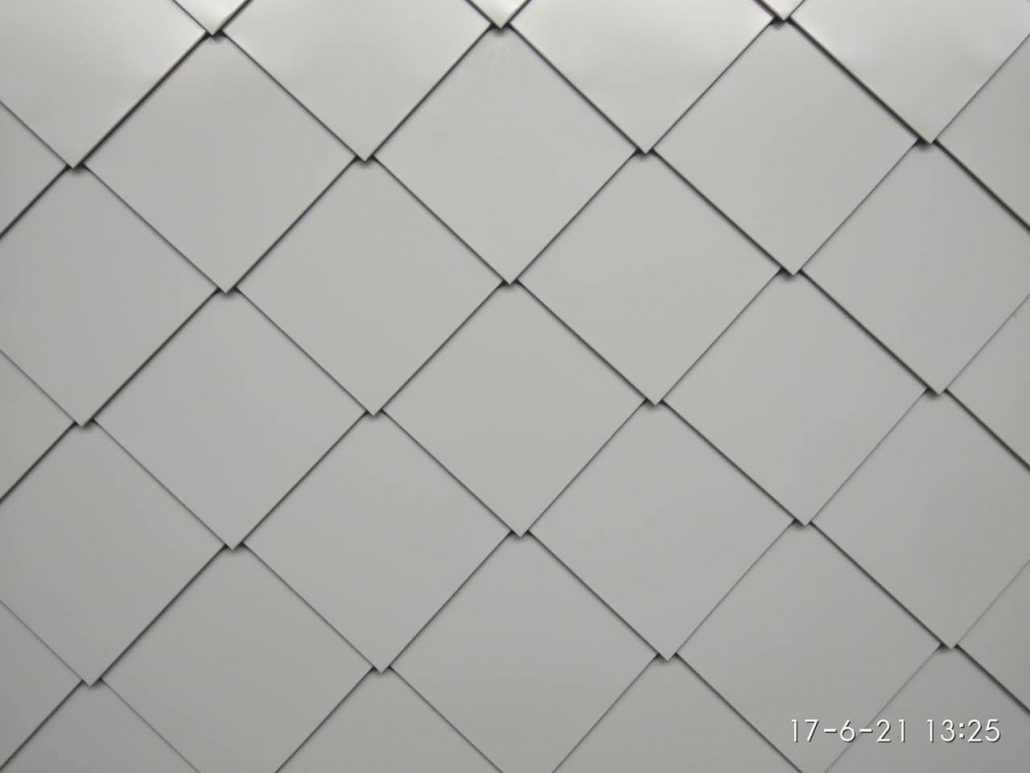 Diamond Shaped Tiles Or Hexagon System Lintel Structure