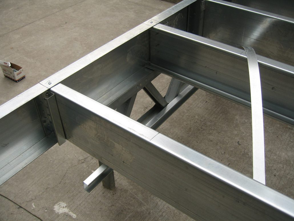 Benefits with light gauge steel framing system - Lintel Structure