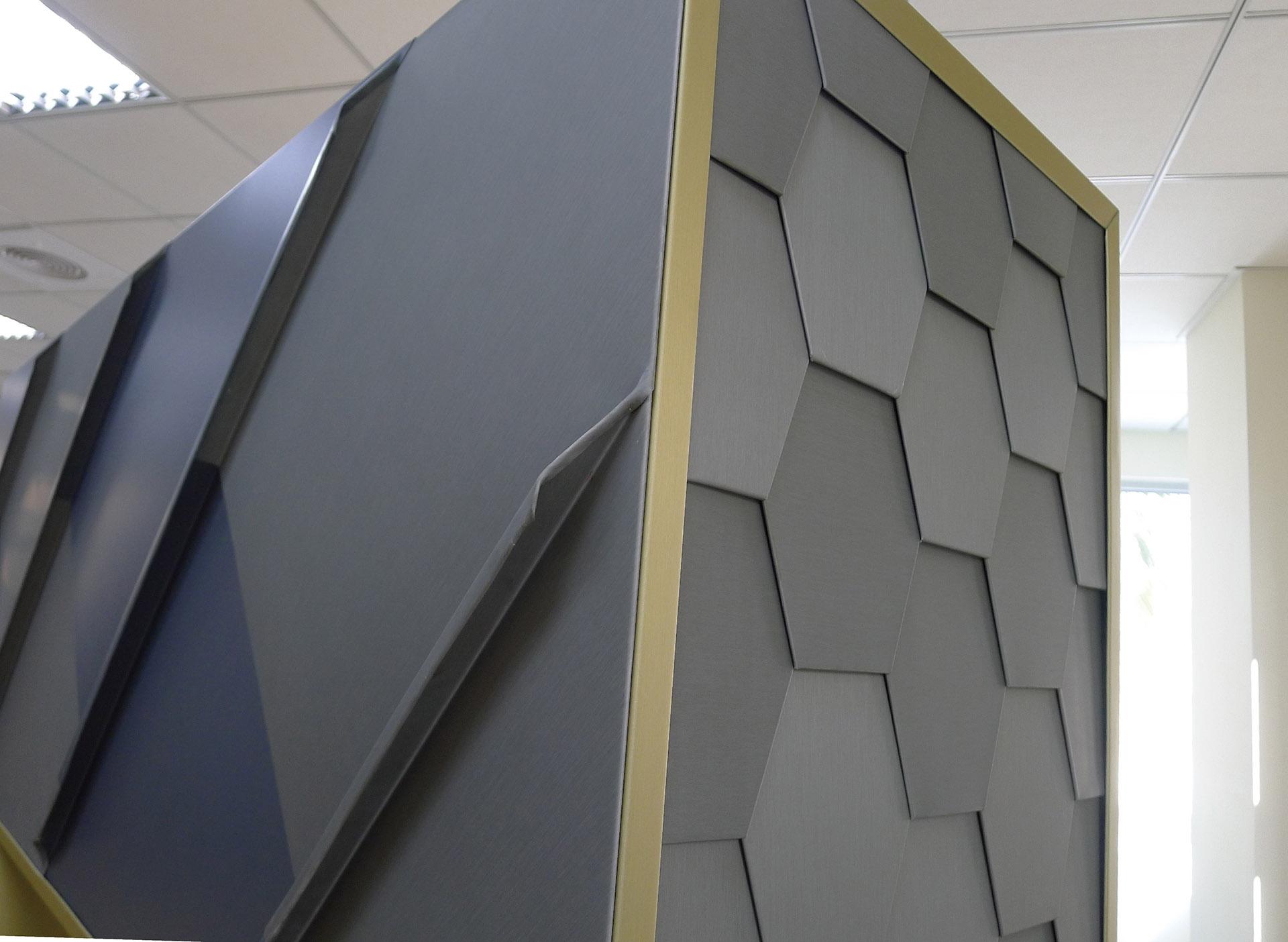 Titanium Zinc Cladding System Lintel Structure